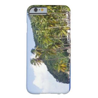 Bahía de Marigot St Lucia del Caribe Funda De iPhone 6 Slim