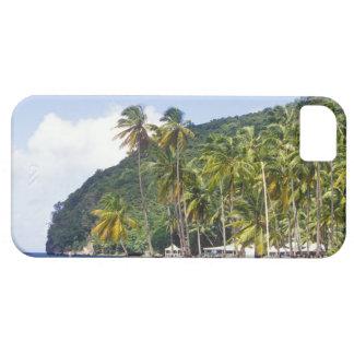Bahía de Marigot St Lucia del Caribe iPhone 5 Case-Mate Coberturas