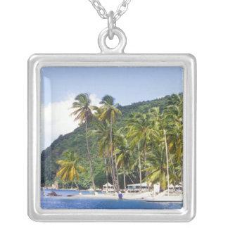Bahía de Marigot St Lucia del Caribe Colgante Personalizado