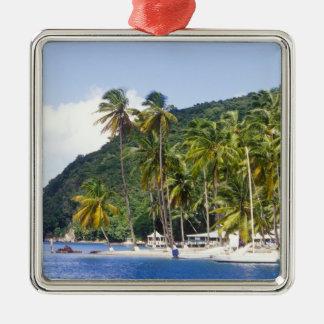 Bahía de Marigot St Lucia del Caribe Ornamentos Para Reyes Magos