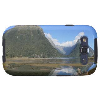 Bahía de Milford Sound, pico del inglete, Nueva Ze Galaxy S3 Cobertura