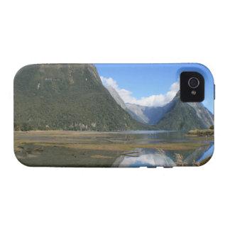 Bahía de Milford Sound, pico del inglete, Nueva Ze iPhone 4/4S Carcasa