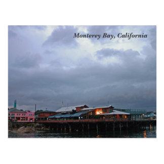Bahía de Monterey, postal de California