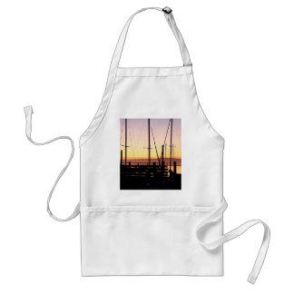 Bahía de Morro de la puesta del sol Delantal