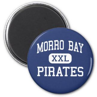 Bahía de Morro - piratas - alta - bahía California Imanes De Nevera