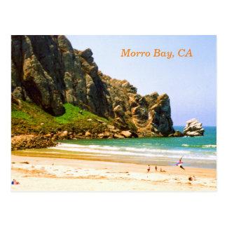 Bahía de Morro, postal del viaje de California