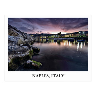Bahía de Nápoles en Italia Postal