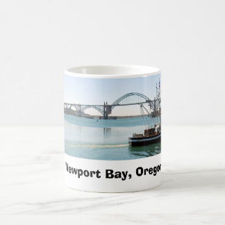 Bahía de Newport, Oregon Taza De Café