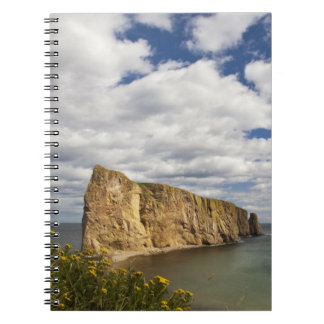 Bahía de Norteamérica, Canadá, Quebec, Gaspe, Perc Libro De Apuntes Con Espiral