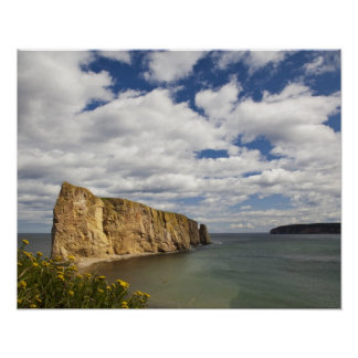 Bahía de Norteamérica, Canadá, Quebec, Gaspe, Perc Posters