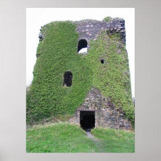 Bahía de Oban del castillo de Dunollie Escocia Impresiones