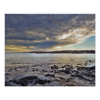 Bahía de Perouse del La, Maui, Hawaii, los E.E.U.U Póster