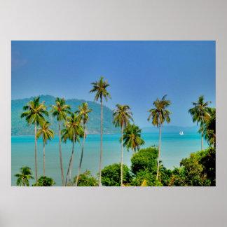 Bahía de Rawai en Phuket Póster