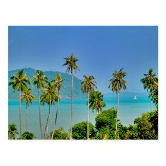 Bahía de Rawai en Phuket Tarjeta Postal