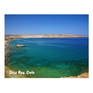 Bahía de Sitia, bahía de Creta, Sitia, Creta Tarjetas Postales