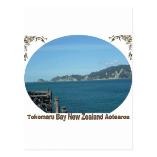 Bahía de Tokomaru, Eastcoast, Nueva Zelanda Postales
