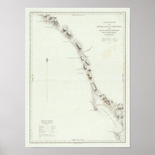 Bahía del Bodega Póster