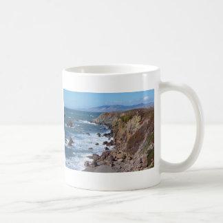 Bahía del Bodega Taza Básica Blanca
