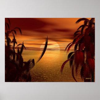 Bahía del canela póster
