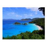Bahía del canela, St. John, Islas Vírgenes de los  Postales