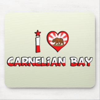 Bahía del Carnelian, CA Tapete De Raton