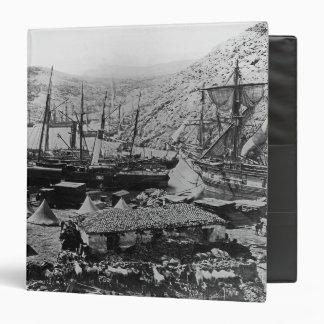 """Bahía del Cossack, Crimea, c.1855 Carpeta 1 1/2"""""""