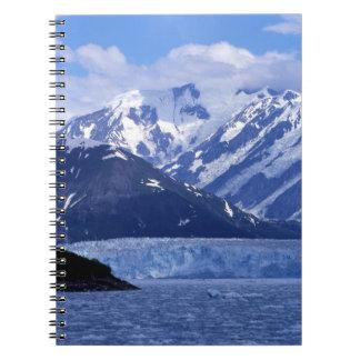 Bahía del desencanto y glaciar de Hubbard, Libro De Apuntes Con Espiral