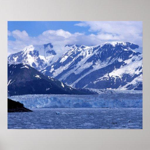 Bahía del desencanto y glaciar de Hubbard, Póster