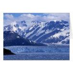 Bahía del desencanto y glaciar de Hubbard, Tarjeta De Felicitación