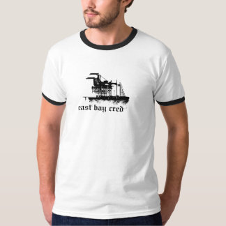 Bahía del este Cred -- Costa icónica de Oakland Camisas