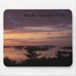 Bahía del francés del parque nacional del Acadia Alfombrillas De Ratones