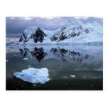 Bahía del paraíso, la Antártida Tarjeta Postal