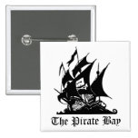 Bahía del pirata, piratería del Internet Pin