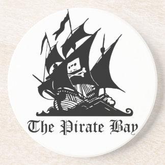 Bahía del pirata, piratería ilegal del Internet Posavasos Manualidades