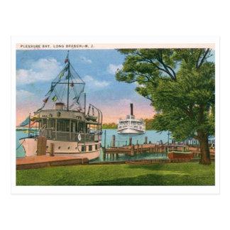 Bahía del placer, rama larga, vintage de NJ Postal