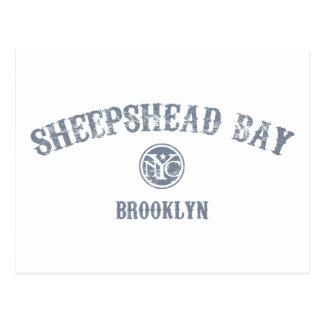 Bahía del Sheepshead Tarjetas Postales
