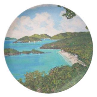 Bahía del tronco - placas platos