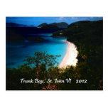 Bahía del tronco, St. John 2012 Postales