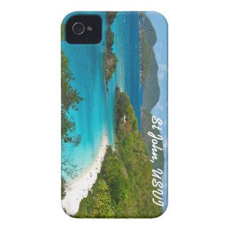 Bahía del tronco, St John USVI Carcasa Para iPhone 4
