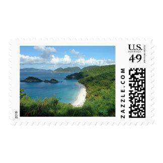 Bahía del tronco, St. John, USVI Timbre Postal