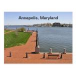 Bahía en Annapolis, Maryland Postal