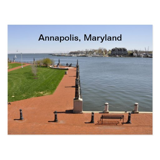 Bahía en Annapolis, Maryland Postales