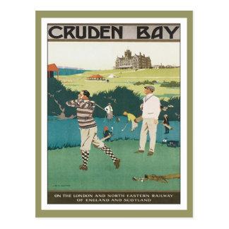 Bahía Escocia de Cruden del vintage Postales