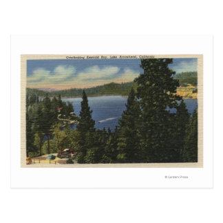 Bahía esmeralda de desatención tarjeta postal
