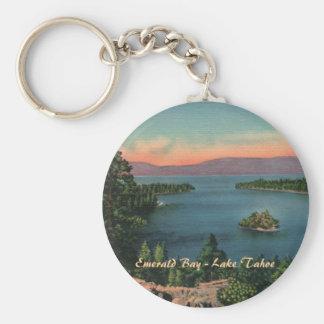 Bahía esmeralda - llavero del lago Tahoe