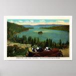 Bahía esmeralda, los años 20 del lago Tahoe Impresiones