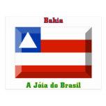 Bahia Flag Gem Postcard