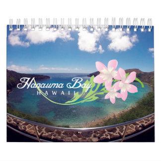 Bahía Hawaii de 20015 Hanauma Calendario