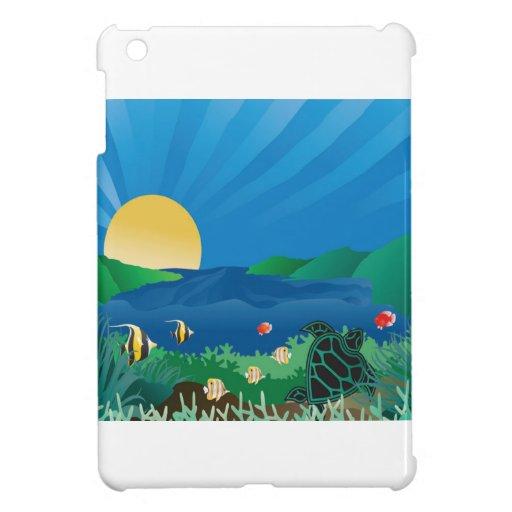 Bahía Hawaii de Hanauma iPad Mini Coberturas