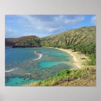 Bahía Hawaii de Hanauma Impresiones